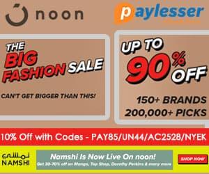 Big Fashion Sale- 10% Off CODE