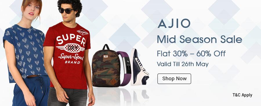 Ajio Mid Season Sale