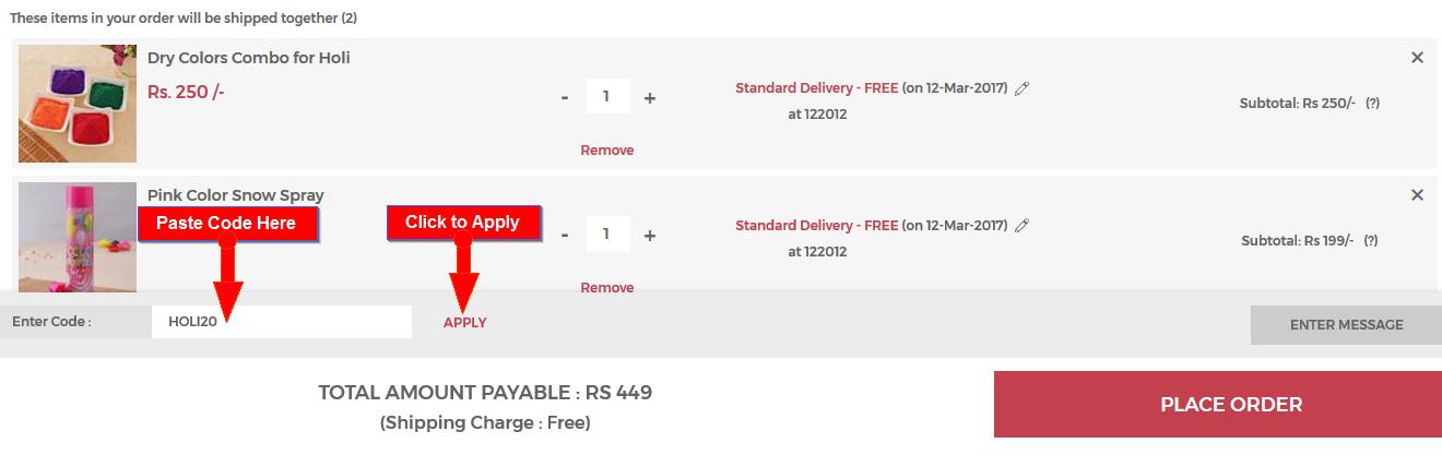Igp discount coupon