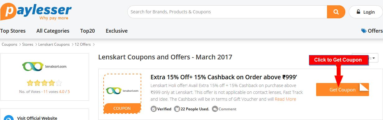 Lenskart Offers