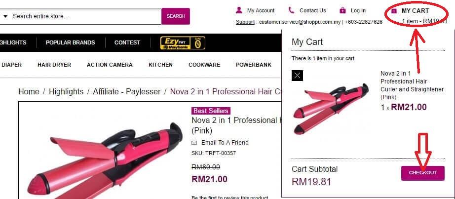 shoppu shopping cart